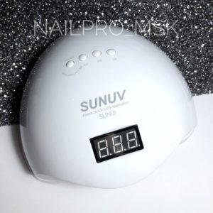 Гибридная лампа UV/LED SUN 5 белая, 48 ватт
