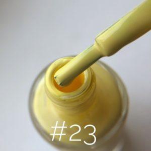 Лак для стемпинга NailStory желтый №23, 11 мл