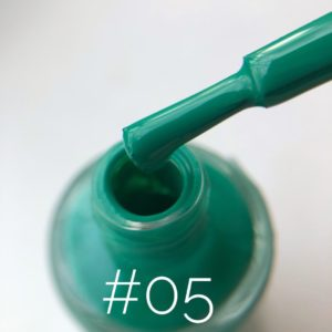 Лак для стемпинга NailStory изумрудно-зелёный №5, 11 мл