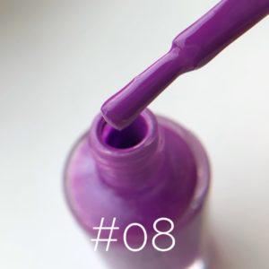 Лак для стемпинга NailStory Осень виноградный №8, 11 мл