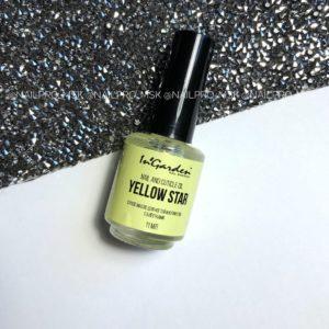 Сухое масло для кутикулы с блёстками InGarden Yellow Star , 11 мл