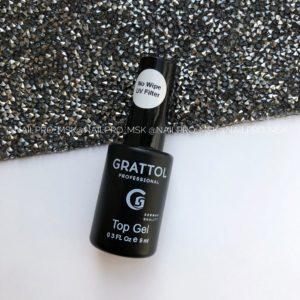 Топ Grattol без липкого слоя с UV фильтром, 9 мл