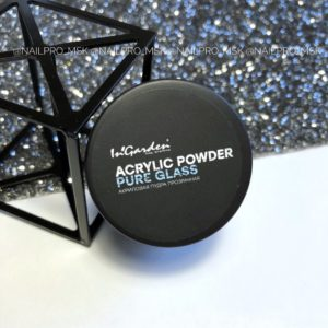 Акриловая пудра прозрачная ACRYLIC POWDER PURE GLASS, 20 гр.