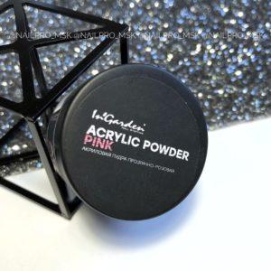 Акриловая пудра прозрачно-розовая ACRYLIC POWDER PINK, 20 гр.