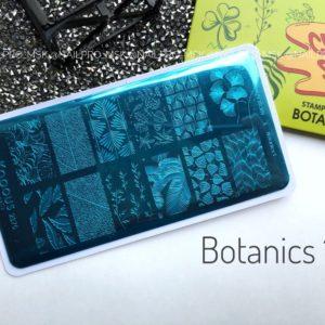 Пластина для стемпинга «Crazy story», Botanics 1
