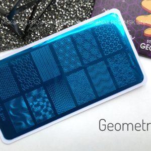 Пластина для стемпинга «Crazy story» , Geometry 1