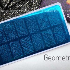 Пластина для стемпинга «Crazy story» , Geometry 2