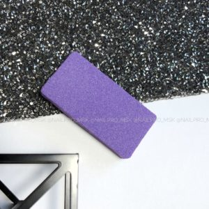 Баф прямоугольный 100/180 грит, фиолетовый