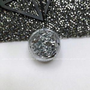 Поталь «серебро»