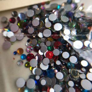 Стразы Mix цветные , 1440 шт.