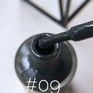 Лак для стемпинга NailStory графит №09, 11 мл