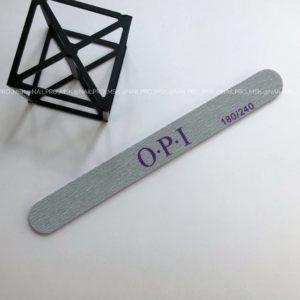 Пилка OPI прямая на вспененной основе 180/240 грит