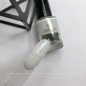 Лак для стемпинга Grattol 01 белый, 6,5 мл
