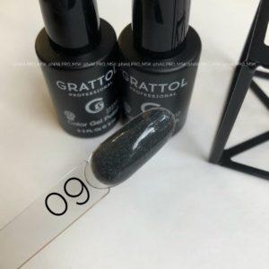 Гель лак Grattol Agate 09, 9 мл