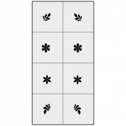 Трафареты X-Color для аэрографии, сет-02