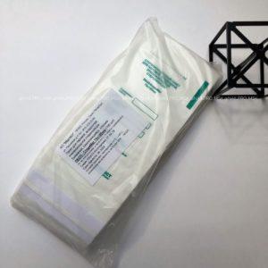 Крафт пакеты белые 75*150 мм, 100 шт.