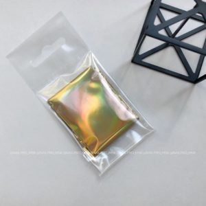 Фольга голография золото, 1 м.