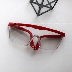 Очки защитные для глаз, красные