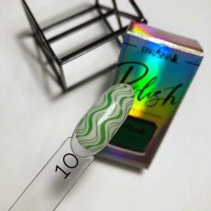 Лак для стемпинга Paris Nail зеленый №010, 10 мл