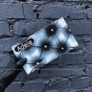 Перчатки нитриловые Adele 100 шт (50 пар) чёрные, размер S