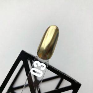 Втирка металлик №03