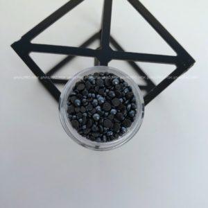 Mix жемчуг керамический, чёрный