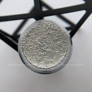 Бульонки металл серебро 0,8 мм