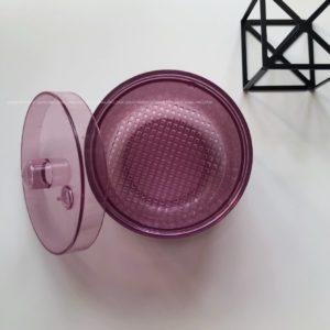 Контейнер для дезинфекции боров и фрез, темно-розовый