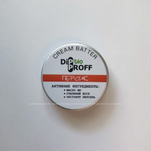"Крем-баттер DipProff bio ""Персик"", 30 гр."