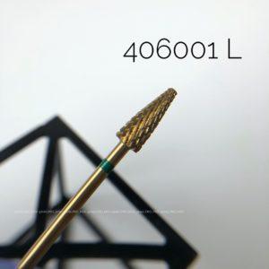 Твердосплавная фреза с зеленой насечкой 406001L (ДЛЯ ЛЕВШЕЙ)